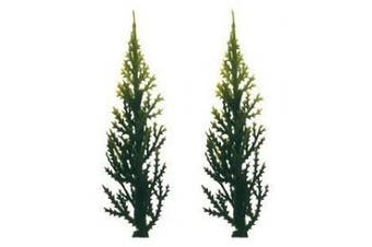 Evergreen (Variegated) Trees for Cake Decorating - 12 trees