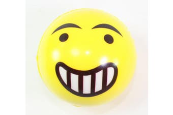 FUN Emoji Face Squeeze Balls- 12 ~ 7.6cm Stress Relax Emotional Toy Balls ~ Fun Office Holiday Gift ~ Stocking Stuffer ~ Gag Toy