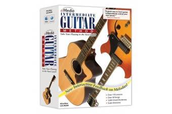(PC/Mac Disc) - eMedia Intermediate Guitar Method v3