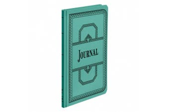 Boorum & Pease 66 Series Account Book, Journal Ruled, Green, 150 Pages, 30cm - 0.3cm x 18cm - 1.6cm (66-150-J)
