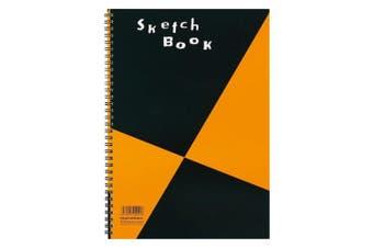 (A4, SKETCHBOOK) - Maruman ZUAN Sketchbook 29cm x 20cm (A4), Unruled, 24 pages (S131)