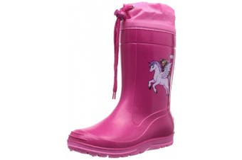 (4.5 UK, Pink (Pink)) - Beck Pferd Pink 498, Girls' Boots