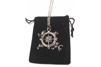 Game of Thrones Song of Ice And Fire Compass Pendant Necklace