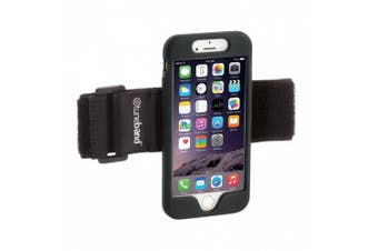 (Black) - TuneBand for iPhone 6, Premium Sports Armband with Two Straps and Two Screen Protectors, BLACK
