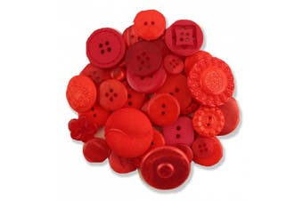 (Big Red) - Buttons Galore Grab Bag Big Red Button