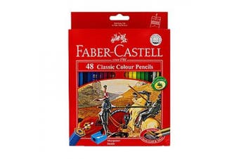(48 Colour) - Faber Castell Premium Colour Pencils, 48 Colours by Faber Castell