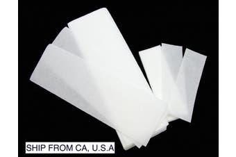 (L+S) - FantaSea Non Woven Facial and Body Wax 100 Strips, 50 small 50 large