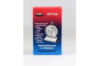 UEi Test Instruments RFT2A Dial Refrigeration Freezer Thermometer
