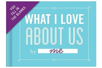 (Love Us) - Knock Knock Fill-In-The-Blank Journal, What I Love About Us (50074)