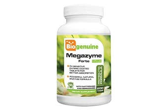 Biogenuine Megazyme Forte Plus 200 Tabs