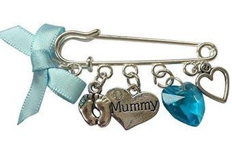 Mummy Bag Charm - Blue