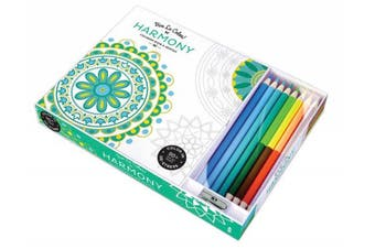 Vive le Color! Harmony (Coloring Book and Pencils): Color Therapy Kit (Vive le Color!)