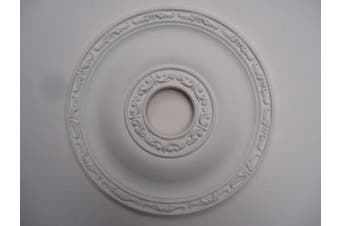 Ceiling Rose Strong Lightweight Resin - 405mm - 'July'
