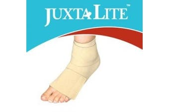 (S, Beige) - CircAid Juxta-Lite Ankle-Foot Wrap