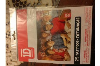 One Direction - 25 Temporary Tattoos