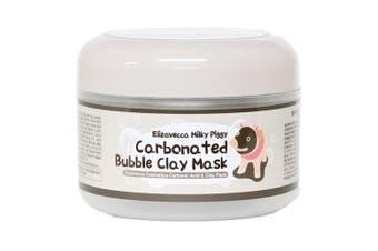 Uk Stock Korea Elizavecca Milky Piggy Carbonated Bubble Clay Mask 100g
