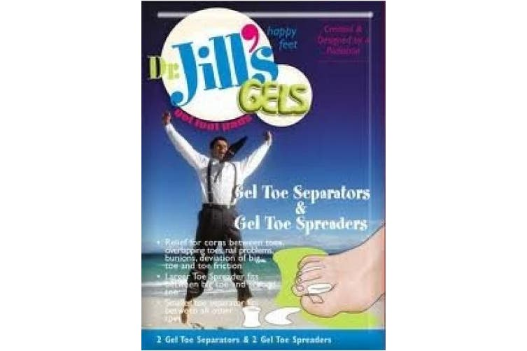 Dr. Jill's Gel Toe Separators & Spreaders