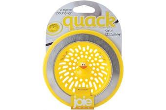 (Duck) - MSC International 11001 Joie Quack Kitchen Sink Strainer Basket, Stainless Steel and BPA-Free Plastic, Duck, Yellow