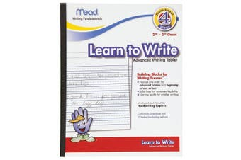 (1, multiple) - Mead Learn to Write Tablet, 25cm x 20cm , 40 Sheets (48068)