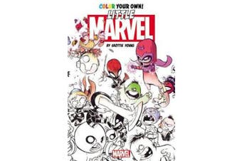 Color Your Own Little Marvels by Skottie Young