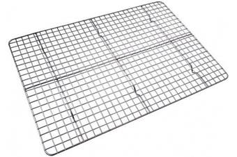 Chequered Chef Stainless Steel Cooling/Baking Rack. Oven Safe. Fits Half Sheet Cookie Pan