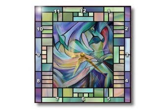 (13x13 Wall Clock) - 3dRose DPP_46761_2 Art Deco Dancer Dance, Dancing, Belly Dance, Bellydance, Oriental Dance, Middle Eastern Dance, Wall Clock, 33cm by 33cm