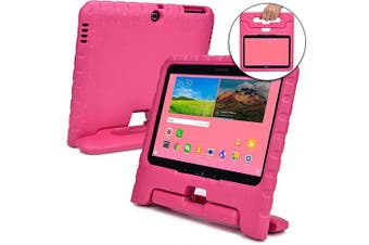 (Pink) - Cooper Dynamo [Rugged Kids Case] Protective Case for Samsung Tab 4 10.1, Tab 3 10.1 | Child Proof Cover with Stand, Handle | SM-T530 T531 T535 (Pink)