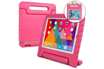 (Pink) - Cooper Dynamo [Rugged Kids Case] Protective Case for iPad 4, iPad 3, iPad 2 | Protective Child Proof Cover, Stand, Handle, Screen Protector (Pink)