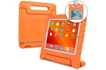 (Orange) - Cooper Dynamo [Rugged Kids Case] Protective Case for iPad 4, iPad 3, iPad 2 | Protective Child Proof Cover, Stand, Handle, Screen Protector (Orange)