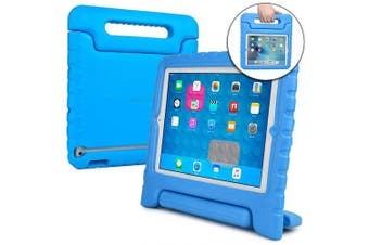 (Blue) - Cooper Dynamo [Rugged Kids Case] Protective Case for iPad 4, iPad 3, iPad 2 | Child Proof Cover with Stand, Handle | A1458 A1459 A1460 A1674 (Blue)