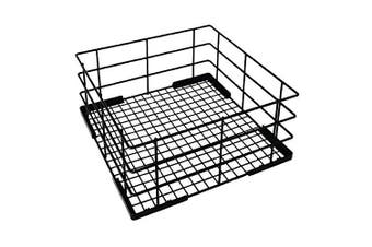 Vogue Wire High Sided Glass Basket 180x400x400mm Dishwasher Cutlery Tray