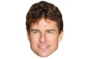 Tom Cruise Celebrity Mask, Cardboard Face and Fancy Dress Mask