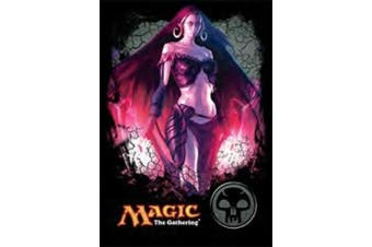 1 X 80 Ultra Pro Deck Protector Gallery Card Sleeves - Magic Mana 4 Planeswalkers - Liliana - Black - Swamp by Ultra Pro