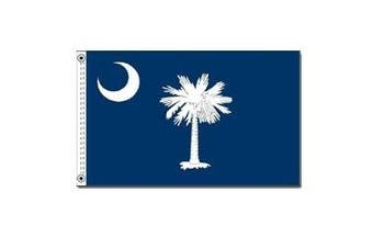 (1.2m by 1.8m) - South Carolina State Flag 1.2m x 1.8m Nylon SolarGuard Nyl-Glo 100% Made in USA to Official State Design Specifications by Annin Flagmakers. Model 144870