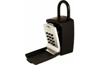 (Large Capacity Shackle) - KeyGuard SL-501 Punch Button Large Capacity Key Storage Shackle Lock Box