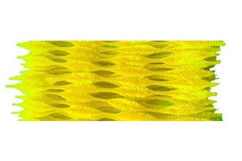 (Yellow) - Caryko Fuzzy Bump Chenille Stems Pipe Cleaners, Pack of 100 (Yellow)