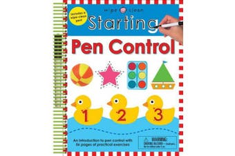 Starting Pen Control (Wipe Clean Workbooks)