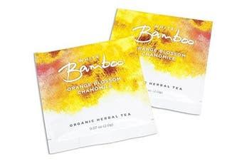 (Orange Blossom Chamomile, 0.1kg) - White Lion White Bamboo Organic Herbal Tea, Orange Blossom Chamomile, 0.1kg