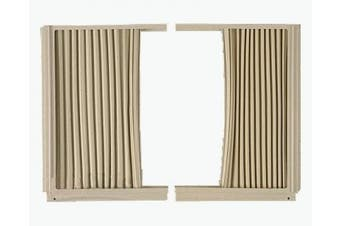 Frigidaire 5304475241 Air Conditioner Window Side Curtain and Frame