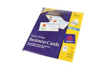 Avery 5.1cm X 8.9cm CleanEdge White Inkjet Business Cards, 150 cards (15 sheets)