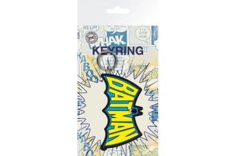 Batman Keychain Keyring For Fans - Wings, Dc Comics (15cm x 7.6cm )