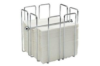 Napkin Holder Chrome plated wire Holds approx 150 napkins supplied empty