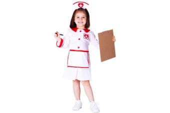 (4-6 years) - Dress up America Red Cross Nurse Costume Set (S)