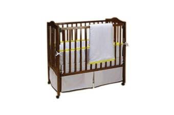 (Yellow) - Baby Doll Forever Mine Junior Crib Bedding Set, Yellow