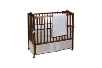 (Chocolate) - Baby Doll Forever Mine Junior Crib Bedding Set, Chocolate