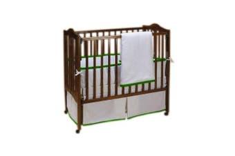 (Green Apple) - Baby Doll Forever Mine Junior Crib Bedding Set, Green Apple