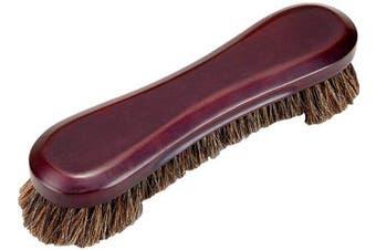 (Wine) - Table Brush - Deluxe Horse Hair