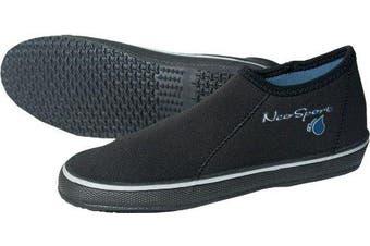 (4, Black) - NeoSport Wetsuits Premium Neoprene Boots