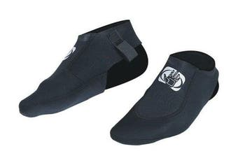 (Large, Black) - Body Glove Flipper Slipper Neoprene Sock