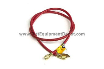 Yellow Jacket 21465 Plus II Hose with 0.6cm Female Flare, 150cm , Red